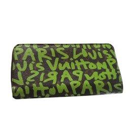 Louis Vuitton-Portefeuille par stéphane Sprouse-Vert