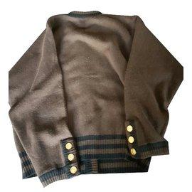 Chanel-Knitwear-Brown