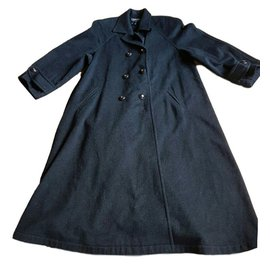 Chanel-Coat-Dark grey