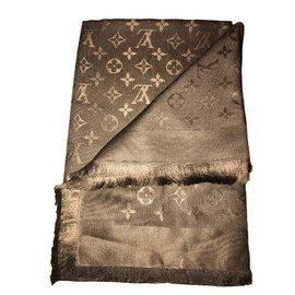 Louis Vuitton-Foulards-Marron