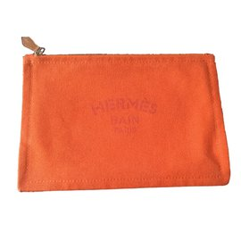 Hermès-Flat Yachting PM-Orange