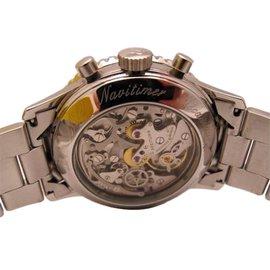 Breitling-Chronographe / old navitimer – patrouille de france-Argenté