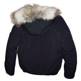 Canada Goose-Coat-Black