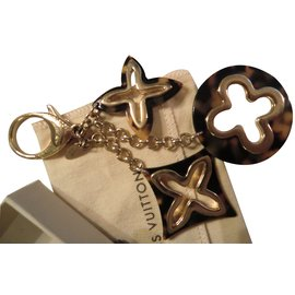 Louis Vuitton-porte clés-Marron