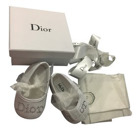 Baby Dior-Ballerinas-White