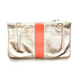 Chloé-Clutch bags-Bronze