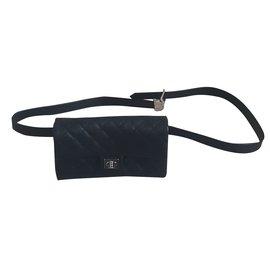 Chanel-Clutch bag-Black