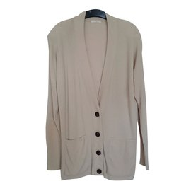 Chloé-Mid-length jacket-Cream
