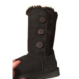 Ugg-Bottes, bottines-Noir