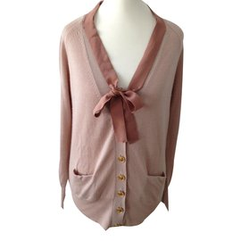 Chloé-cardigan blush size 36-Pink