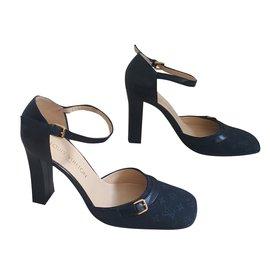 Louis Vuitton-Escarpins-Bleu