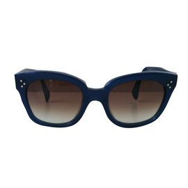 Céline-Audrey Sunglasses-Blue