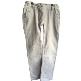 Christian Dior-Pants-Grey