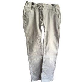 Christian Dior-Pantalons fille-Gris