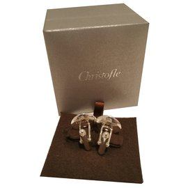 Christofle-Cufflinks Christofle-Silvery