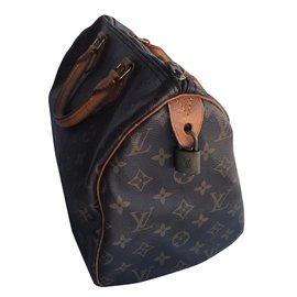 Louis Vuitton-Sacs à main-Marron