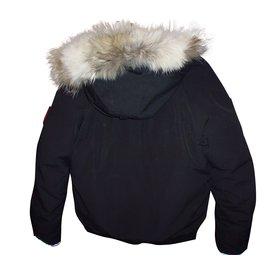 Canada Goose-Blazers Jackets-Black