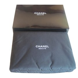 Chanel-Make up Bag-Black