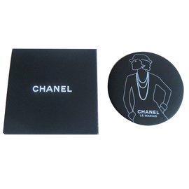 Chanel-Miroir de sac chanel-Noir