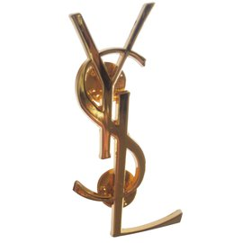 Yves Saint Laurent-Grand pin's-Doré