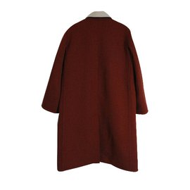 Céline-Coat-Dark red