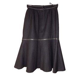Balenciaga-Jupe-Noir