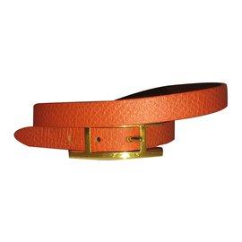 Hermès-Behapi double tour xs-Orange
