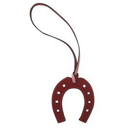 Hermès-Paddock horseshoe-Rose,Rouge