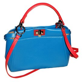 Fendi-Mini Peekaboo-Blue