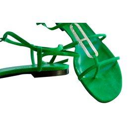 Hermès-Sandales Infini-Vert