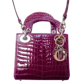 Dior-Mini Lady Dior-Purple