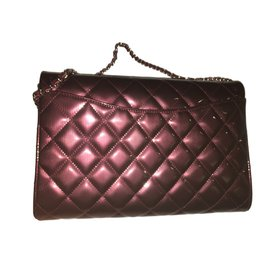 Chanel-Pochette timeless-Bordeaux