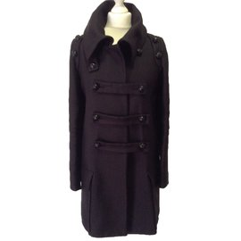 Balmain-Coat-Black