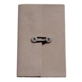 Chanel-Carnet de note-Beige