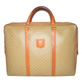 Céline-Bags Briefcases-Beige