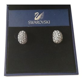Swarovski-Boucles d'oreilles-Bleu