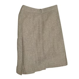 Céline-Vintage Skirt-Grey