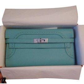 Hermès-Purse-Blue