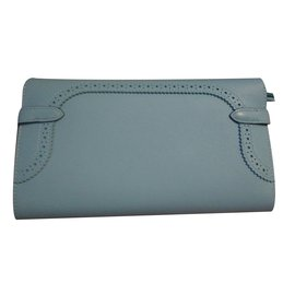 Hermès-Kelly ghillies atoll-Bleu