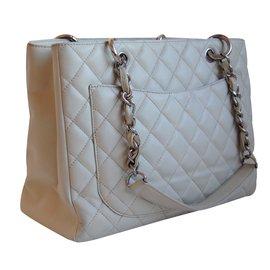 Chanel-Sacs à main-Blanc