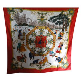 Hermès-Joie d'hiver-Multicolore