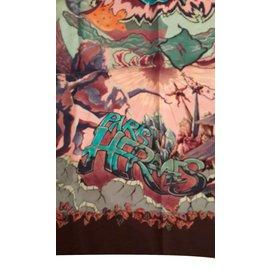 Hermès-AUBE   libre comme l ange-Multicolore