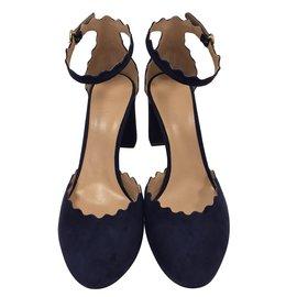Chloé-Blue sandals-Blue