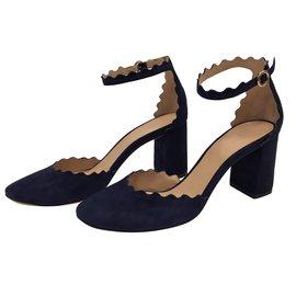 Chloé-Sandales-Bleu