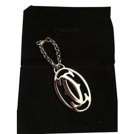 Cartier-Bijoux de sac-Argenté