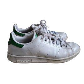 Adidas-Baskets-Blanc