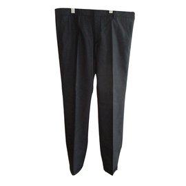 Prada-Pantalon homme-gris anthracite