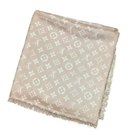 Louis Vuitton-Foulard-Rose