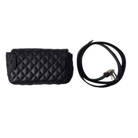 Chanel-Bag on belt-Noir