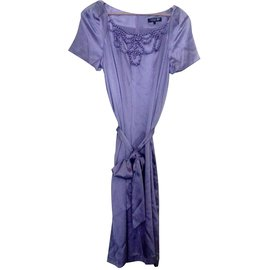 Georges Rech-Dress-Purple
